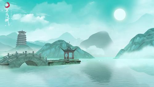 图片: 图2:广阔优美的杭州河岸.jpg